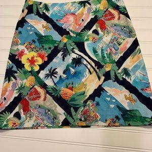 NWT Loft Tropical Skirt Size 4
